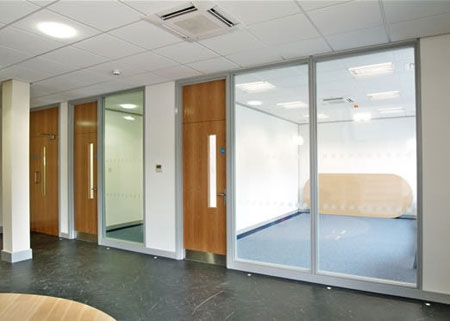 Partitions  Office Refurbishment Partitions  Interior Design